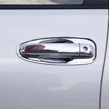 Хромированная дверная ручка Накладка для Toyota Land Cruiser Prado 150 2010 2012 2013 2014 2015 2016 2017 2018 2019 2020 аксессуары