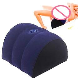 Śmieszne nadmuchiwane miłość poduszka poduszka pomoc klin pozycja meble para magia miłość gra zabawka poprawić szanse na ciążę