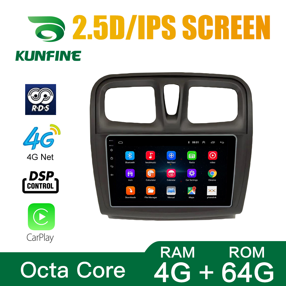 Android Car DVD GPS Navigation Multimedia Player Car Stereo For Renault sandero symbol 2017 Radio Headunit 6
