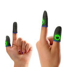 الألعاب فنجر كم تنفس مضيئة الأصابع ل PUBG ألعاب المحمول شاشة تعمل باللمس غطاء للأصابع غطاء الحساسة اللمس المحمول