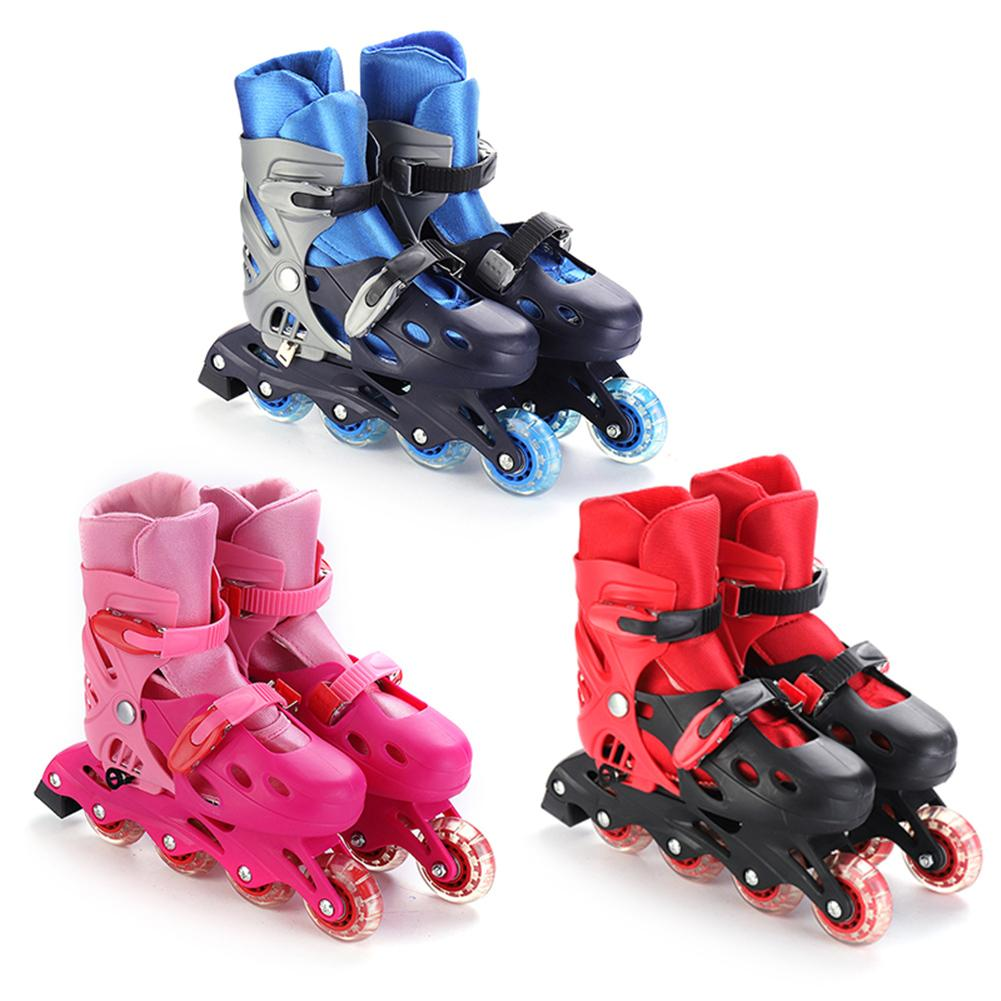 1 Pair Of High Quality Roller Shoes Adjustable Inline Roller Skates Universal For Beginner Breathable Comfortable Roller Skates