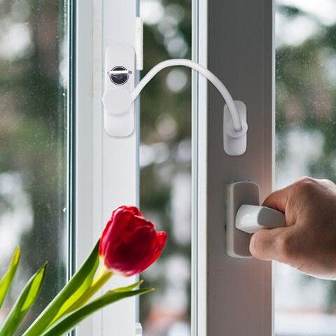 seguranca restrictor bloqueio com cabo para casa