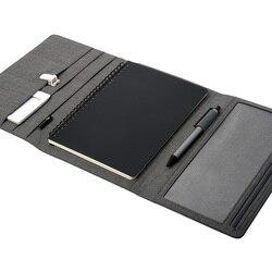 KACO ALIO haute qualité tissu imperméable ensemble d'affaires conférence cadeaux A5 cahier multifonctionnel fournitures de bureau
