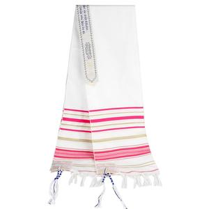 Image 3 - Messianic Jewish Israel Tallit Prayer Shawl Scarfs With Talis Bag Gifts for Women Ladies Men 180*50cm 5 Colors