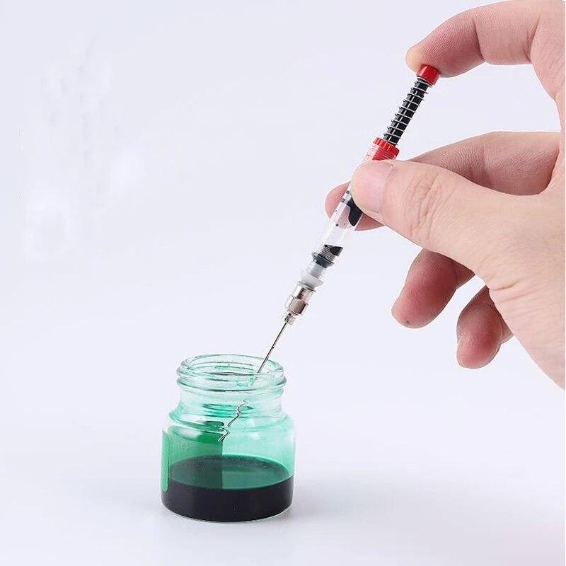 Ручка перьевая Moonman Hongdian, преобразователь чернил, картридж, наполнитель, чернильная ручка, шприц, инструмент, канцелярские принадлежности, о...