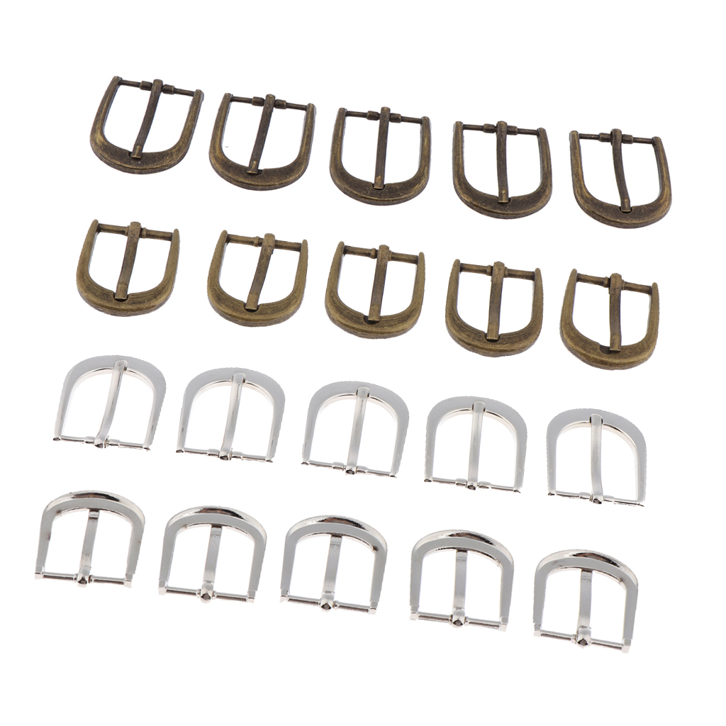 Metal Welded Belt Buckle For DIY Sewing Craft Accessory Bags Backpack Straps