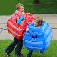 Child PVC Inflatable Bumper Ball Zorb Bubble Ball Kids Fitness Games Ball Inflatable Zorb Air body Bumper Ball Bubble Football