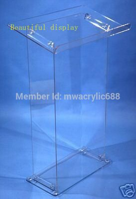 Free Shipping Acrylic Podium Pulpit Lectern