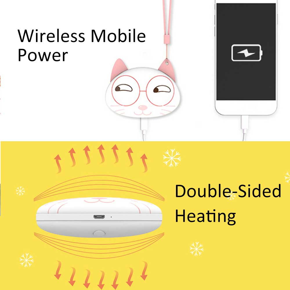 Cute Hand Portable Mini 5V Warmer 19