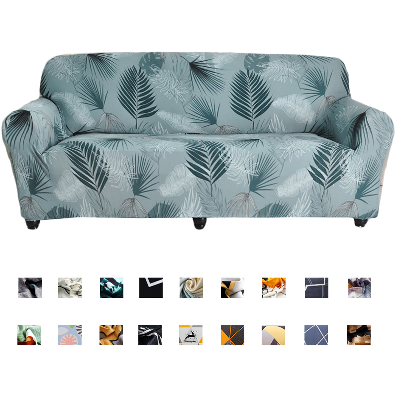Elastic Sofa Cover Cotton All-inclusive Couch Cover For Living Room 1/2/3/4 Seater Stretch Slipcover L Shape Corner Sofa Spandex