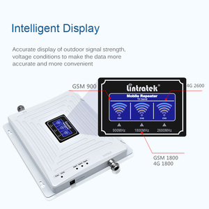 Image 3 - Lintratek Repeater GSM 4G LTE สัญญาณ Booster 900 1800 2600 GSM 900 LTE 1800 4G 2600 Booster GSM 1800 AMPLI Tri Band @ 5