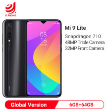 Versión Global Xiaomi mi 9 Lite 6GB 64GB 48MP Triple Cámara Smartphone Snapdragon 710 Octa Core 32MP cámara frontal 4030mAh NFC(Hong Kong,China)
