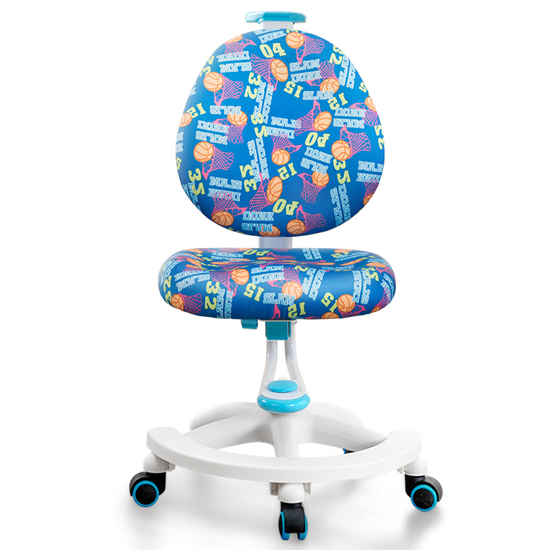 Children's Study Chair Primary School Students'writing Chair Household Desk Backrest Seat Seating Posture Correction Adjustable