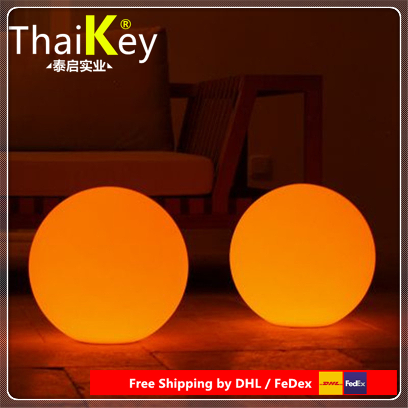 Diameter 30cm/40cm/50cm Led Landscape Garden Lamp PE Ball