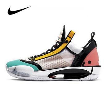 Nike Air Jordan 34 Men's Basketball Shoes Low Guo Ailun PF High-top Jordan Shoes Basketball Sneakers Jordan Shoes Men Original