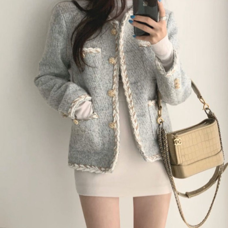 Womens Tops And Blouses Women Knitted Vest 2020 New Spring Autumn Korean Tweed Coat Vest Women Clothes