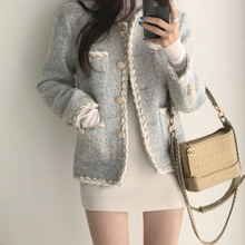Womens Tops And Blouses Women Knitted Vest 2020 New Spring Autumn Korean Tweed C