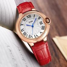 Watches Women brand CA luxury Fashion Casual waterproof leather Lady quartz watches relojes mujer womenes watches Dress Clock стоимость