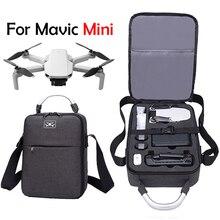 สำหรับ DJI Mavic MINI กระเป๋ากันน้ำกรณี Drone กันกระแทกกล่อง Protector รีโมทคอนโทรลเก็บกระเป๋าเป้สะพายหลังจับ