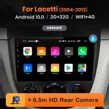 Awesafe px9 para chevrolet lacetti j200 buick excelle hrv daewoo gentra 2 rádio do carro reprodutor de vídeo multimídia gps dvd android 10