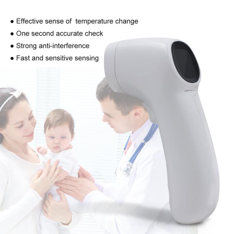 Non-contact IR Infrared Thermometer Baby Adult Forehead Ear Thermometer Digital LCD Laser Pyrometer Car Surface Temperature Mete