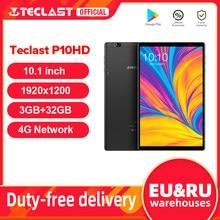 Teclast P10HD 10.1 polegada Android 9.0 Tablet 1920x1200 Octa Núcleo 3 SC9863A GB de RAM GB ROM 4 32G Rede AI Speed-up Tablets PC GPS