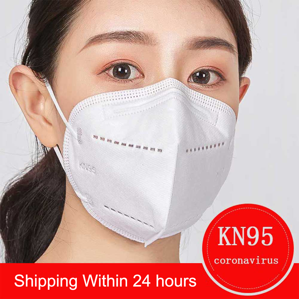 10Pcs Cover Protective Mask KN95 N95 5-Ply Filtering Non-Woven Safety Dust Face Masks Anti-Haze Fog PM2.5 Profession Mouth Mask