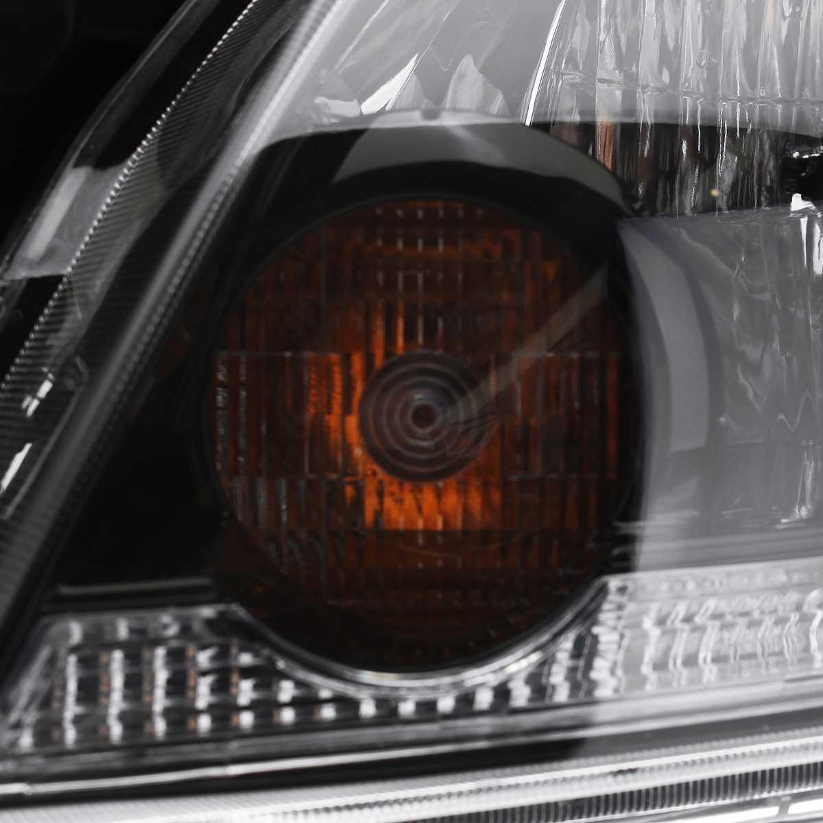 Links + Rechts Auto Front Scheinwerfer Kopf Lampen Lichter Montage Mit Lampe Für MITSUBISHI Für Outlander 2003 2004 2005 2006 - 6