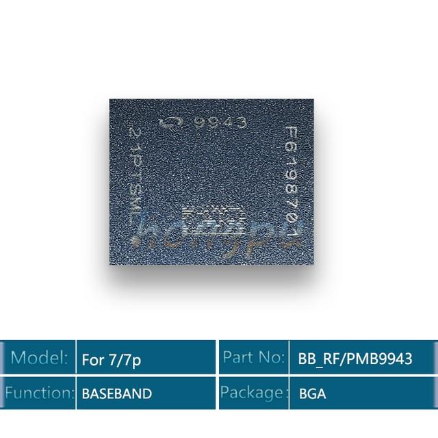 5 قطعة/الوحدة 9943 BB_RF ل فون 7/7 زائد القاعدي وحدة المعالجة المركزية IC رقاقة ل إنتل النسخة