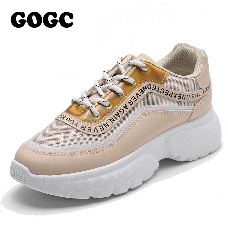 GOGC Shoes Woman Sneakers Women Women Casual Spring Summer Sneakers Breathable Women Shoes Female Platform Shoes Women G6815