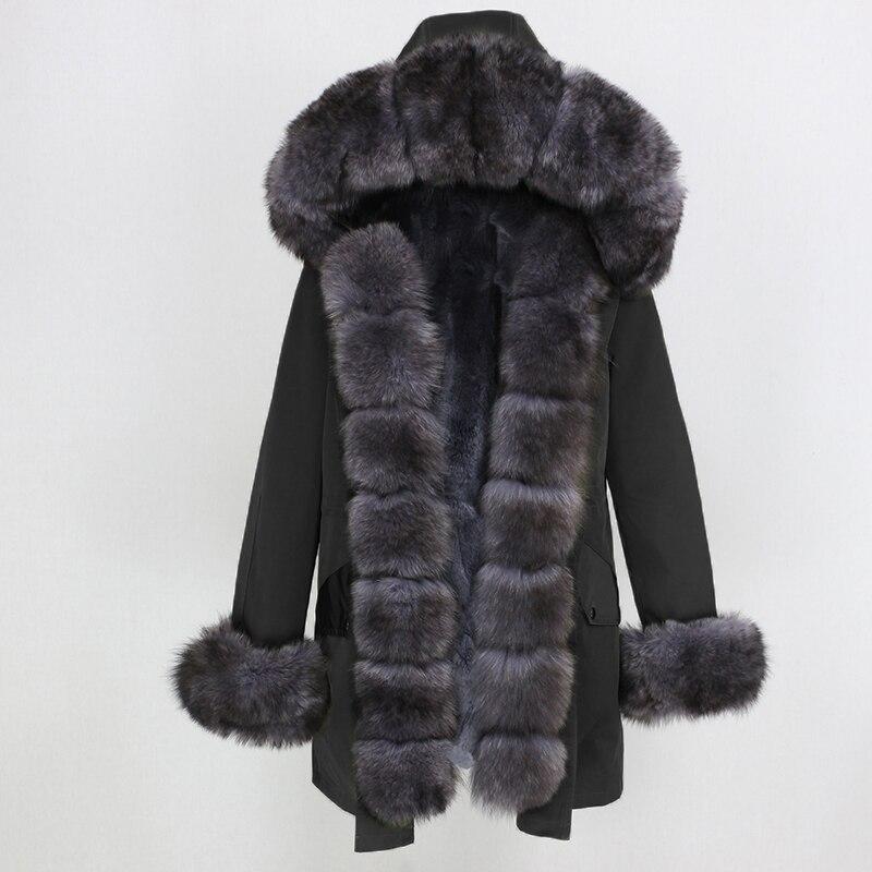 OFTBUY Waterproof Long Parka Winter Jacket Women Real Fur Coat Natural Fox Fur Collar Hood Thick Warm Streetwear Detachable New 2
