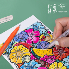 MiYA HIMI white ink highlight pen rotatable end and Refillable ink for Artist and Kids