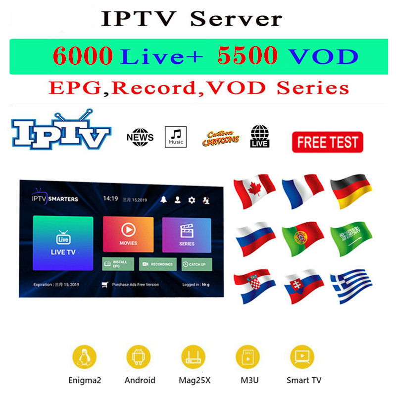 Iptv  Belgium Arabic 1 Year Subscription Iptv Europe Sport Adult Abonnement Code M3u For Htv X96 5 Mag 250 Mag250 Tv Box