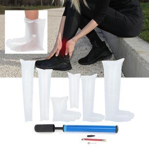 Image 2 - 7pcs Leg Arm Inflatable Air Splint Set Outdoor Camping First Aid Emergency Kit Arm Air Splint