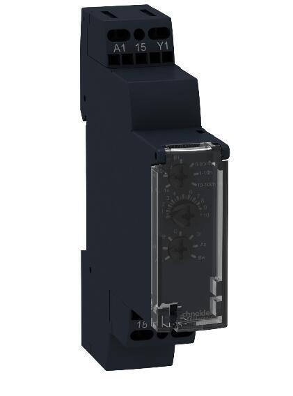 RE17RMMWS relais de synchronisation modulaire, 8 A, 1 s .. 100 h, 1 CO, 10 fonctions, 12...240 V AC/DC