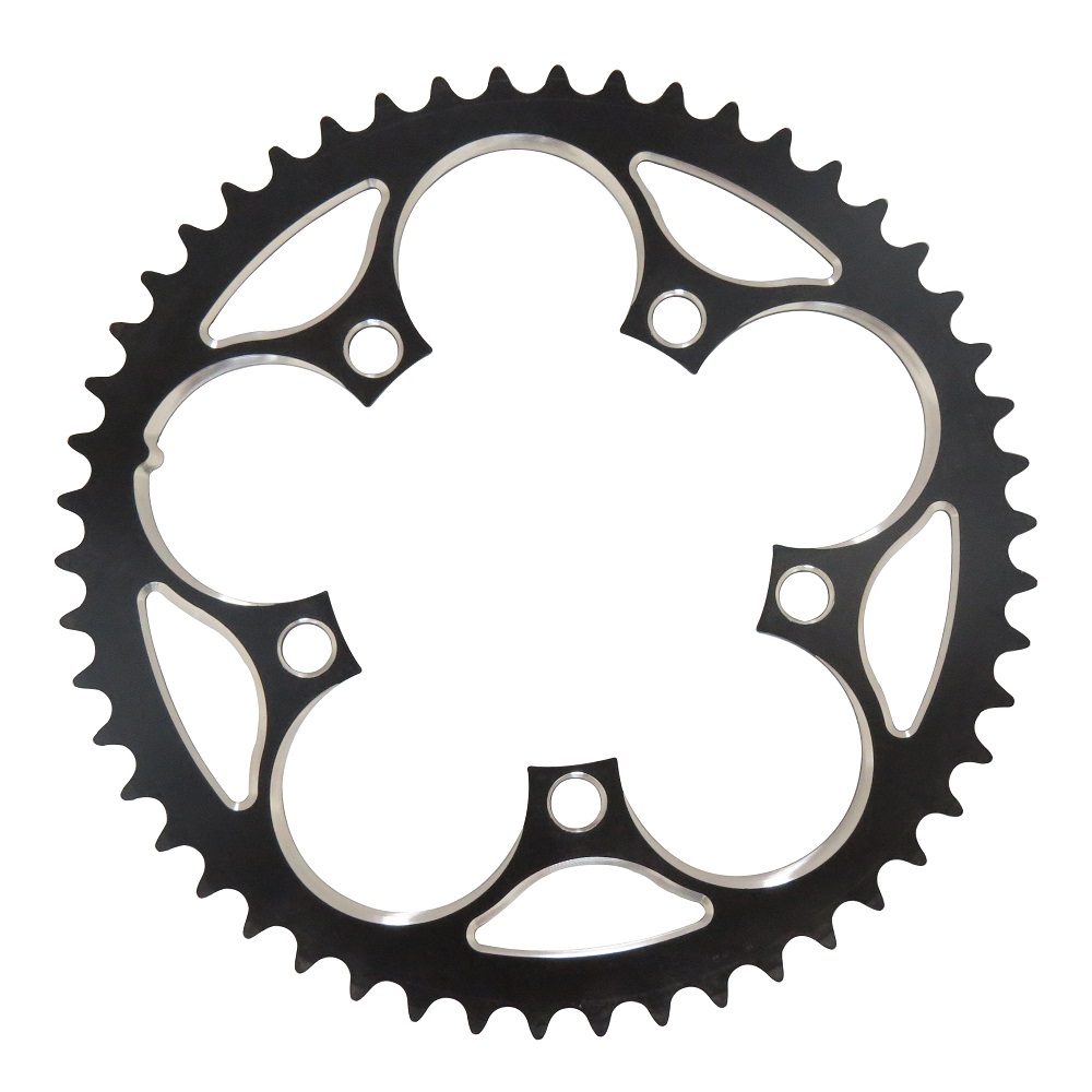 TRUYOU Chain Wheel Road Bicycle Parts Crankset Folding Bike Chainring <font><b>110BCD</b></font> 34T 36T 39T 42T 44T 46T 48T <font><b>50T</b></font> 52T 53T Gear Disc image