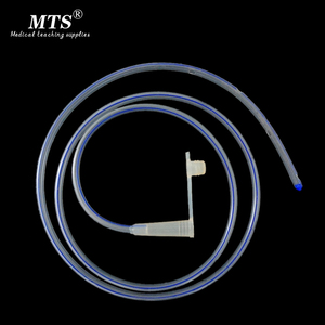 Image 1 - 10pcs silicone medical stomach tube disposable pediatric adult enteral tube enteral nutrition feeding catheter Medical science