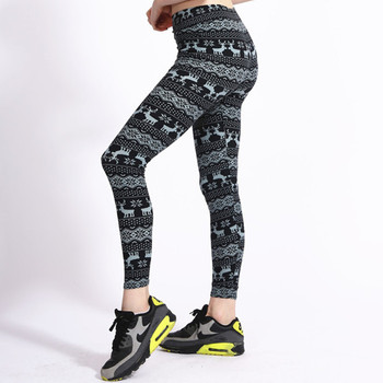 New super soft butter quality Sexy  fashion lady comfortable fit curve Blue gray striped fawn flowers leggings