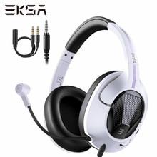 EksaマイクE3D 3.5ミリメートルステレオ有線ゲーミングヘッドセットイヤホン/PS4/xbox 1/ニンテンドースイッチ