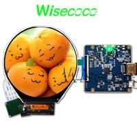 wisecoco Round display 3.4 inch 800x800 ips tft lcd panel circle instruments screen HDMI mipi driver board ILI9881C drive IC