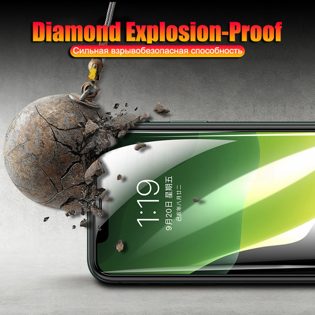 Full Cover Tempered Glass on The For iPhone 11 Pro Max SE 2020 Screen Protector For iPhone 7 8 6 6s Plus XS Max XR X Glass