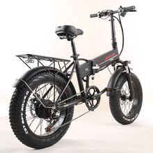 Battery Bicycle Folding Electric 20-Inch Snowfield Lithium Walking-Fat-Tire-48v Beach