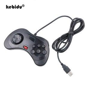 Image 1 - Kebidu nuovo Gamepad cablato Controller di gioco classico USB Gamepad Joypad per PC per Sega