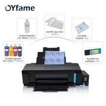 OYfame для Epson L1800 A3 Размер DTF печать прямая печать Flim печать для футболок печать всех Farbic печать DTF печатная машина