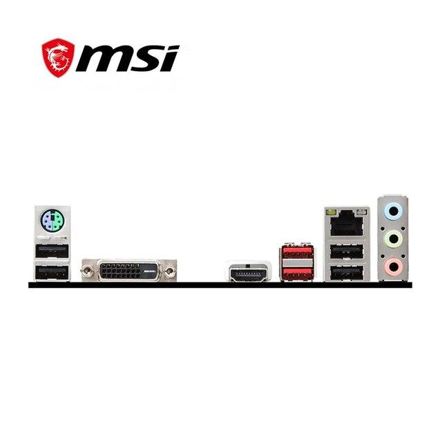 Für MSI H310M GAMING PLUS Motherboard Sockel LGA 1151 DDR4 Für Intel H310M H310M Original Desktop Mainboard Verwendet Mainboard
