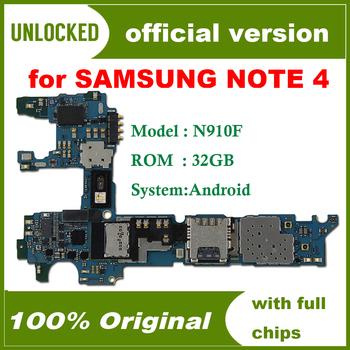 32gb oryginalny odblokowany do płyty głównej Samsung Galaxy Note 4 N910F wersja europejska do płyty głównej Note 4 N910F tanie i dobre opinie HHXHH Wewnętrzny for Galaxy Note 4 N910F Original unlocked Disassemble Used Europe Version Shenzhen Guangdong China(mainland)