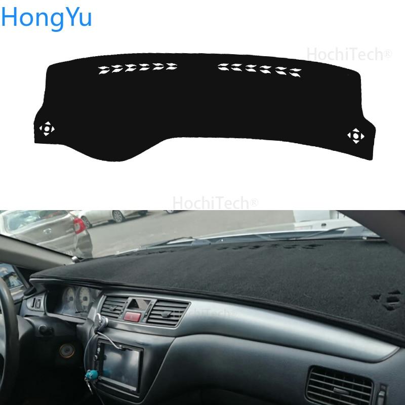 For Mitsubishi Lancer 9 GLX Interior Accessories Auto Car Dashboard Cover Dash Mat Board Pad Carpet Dashmat Anti-UV Mats