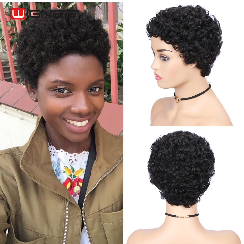 ZXjymll//~ Womens Synthetic Fiber Short Straight Hair Wigs Natural Looking Daily Party Wig