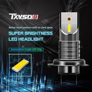 2 шт. супер яркий мини CSP H7 светодиодные лампы для автомобильных фар 150W 6500K 30000LM лампы для автомобилей Luces Led Para Авто противотуманных фар