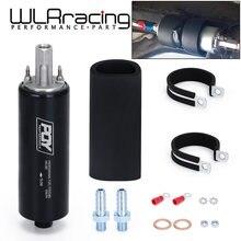 Wlr-black uniwersalny wysoki przepływ i pompa paliwa GSL392 ciśnienie zewnętrzne Inline 255LPH z logo PQY lub logo Withou WLR-FPB005
